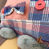 Кот - подушка, усато-квадратированный
